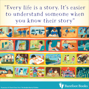 Barefoot Children Story page
