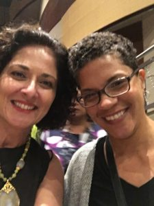 "Selfie with brilliant Michelle Alexander, author of seminal ""The New Jim Crow"""