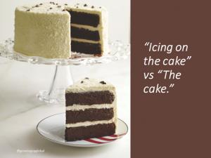 cake vs icing