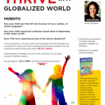 Raising kids to thrive flyer
